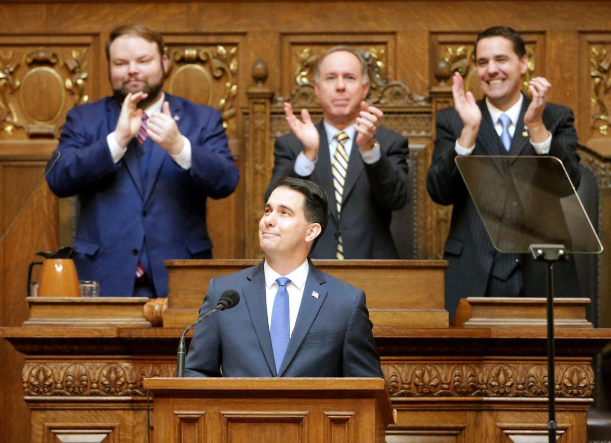 Scott Walker and GOP lawmakers