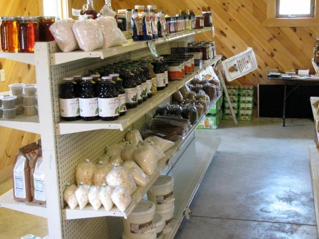 Vernon Hershberger's store