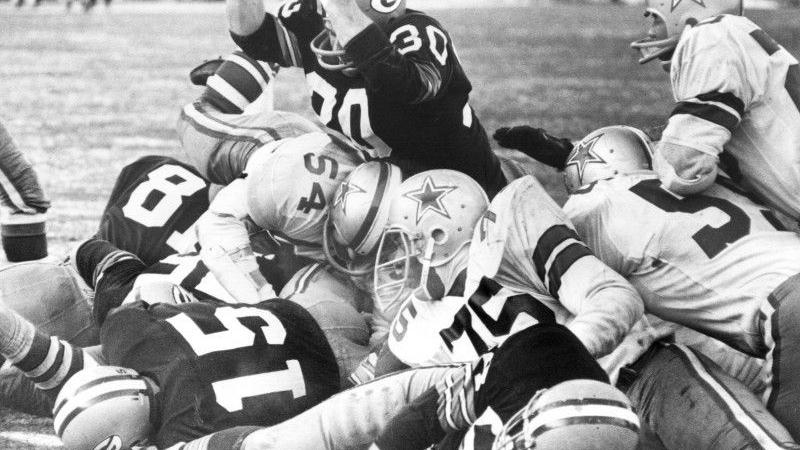 Throwback photos: 50th anniversary of the 'Ice Bowl' – the coldest game in NFL history