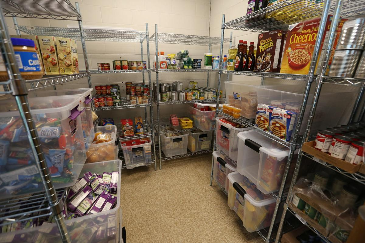 Photos mendota elementary school opens food pantry for Madison food pantry ct
