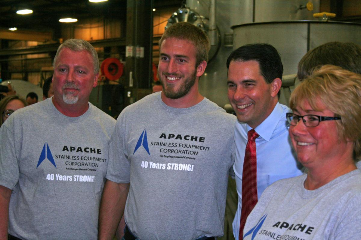 Scott Walker at Apache