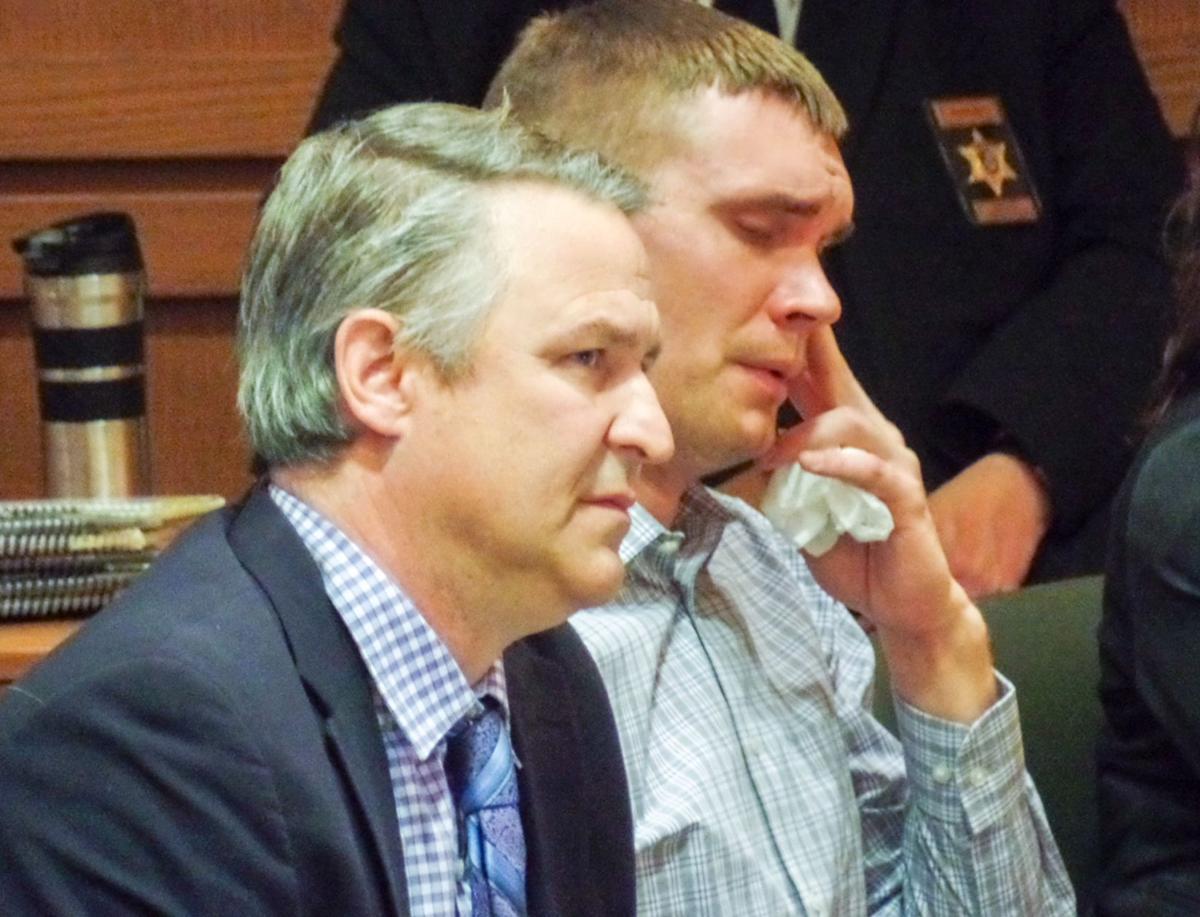 Joshua Gehde in court