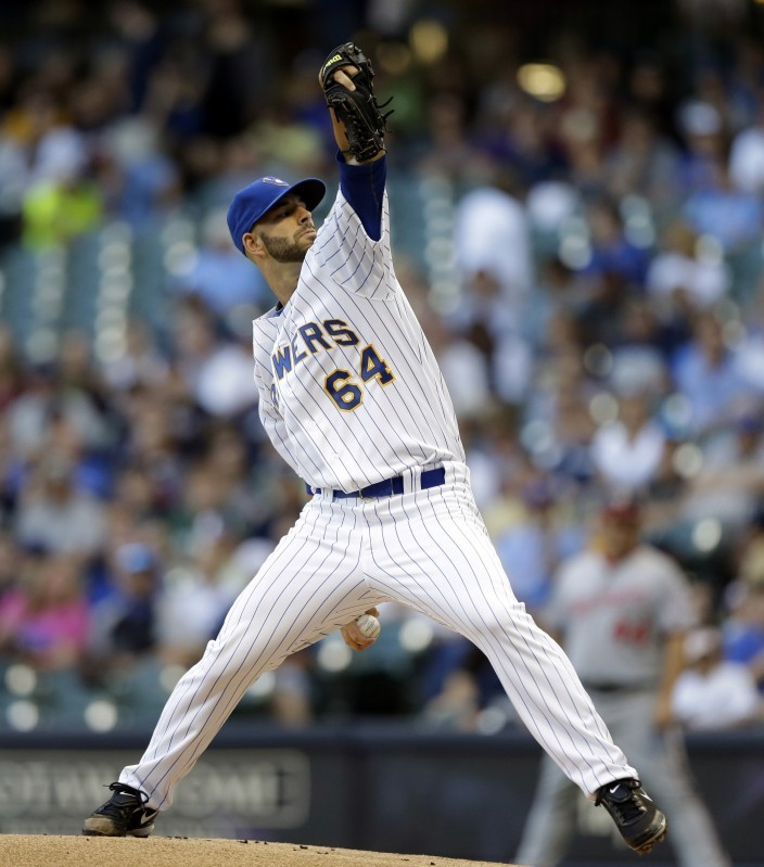 Mike Fiers Brewers: Rookie Fiers Stays Hot As Brewers Shut Out Nationals
