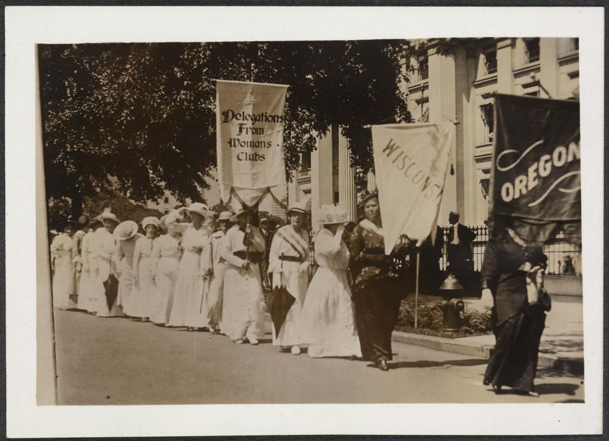 Wisconsin women for suffrage