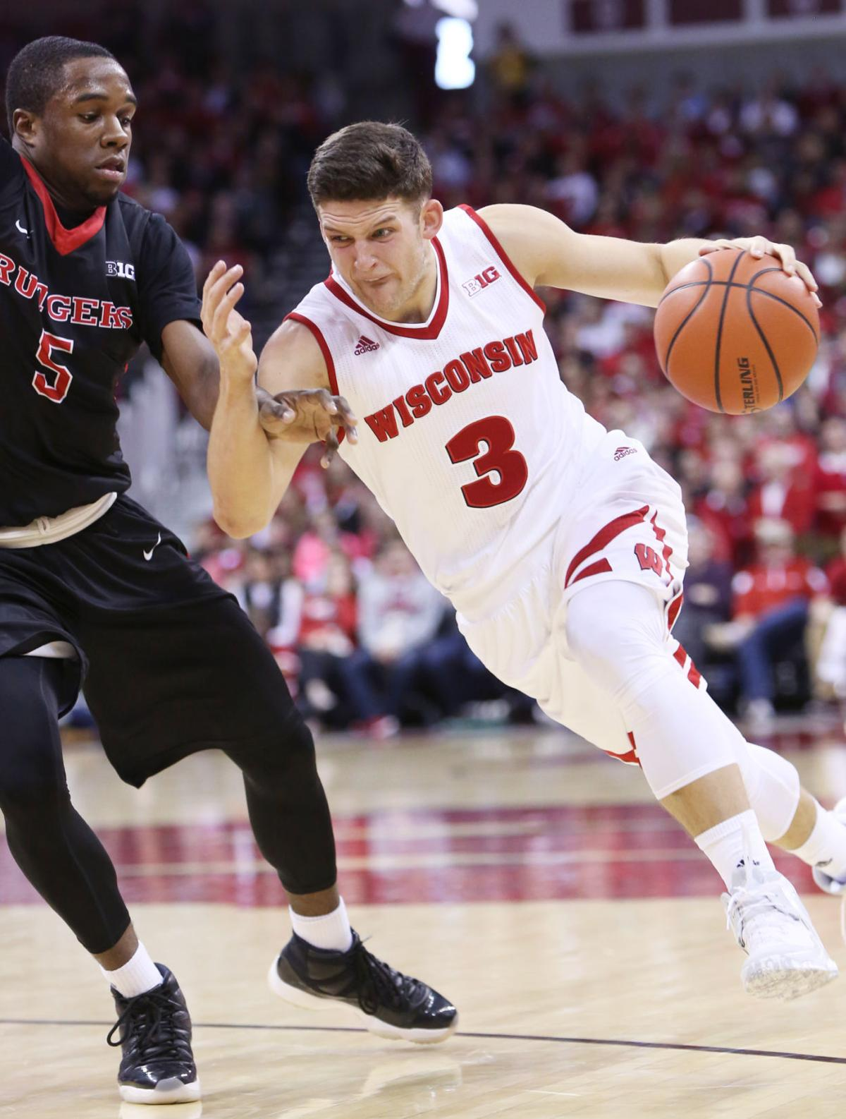 Photos: Badgers 79, Rutgers 57 | Wisconsin Badgers Men's ...