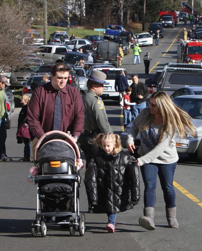 Sandy Hook Shooting: Photos: Connecticut School Shooting Scene