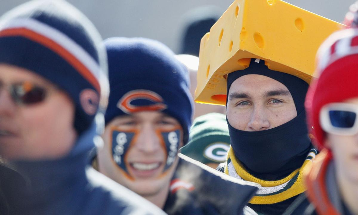 Packers and Bears fans