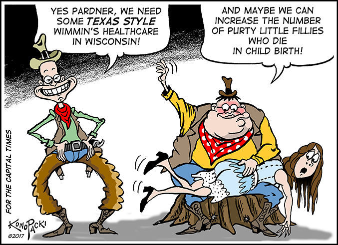 Editorial cartoon (8/9/2017)