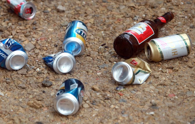 Beer cans file photo