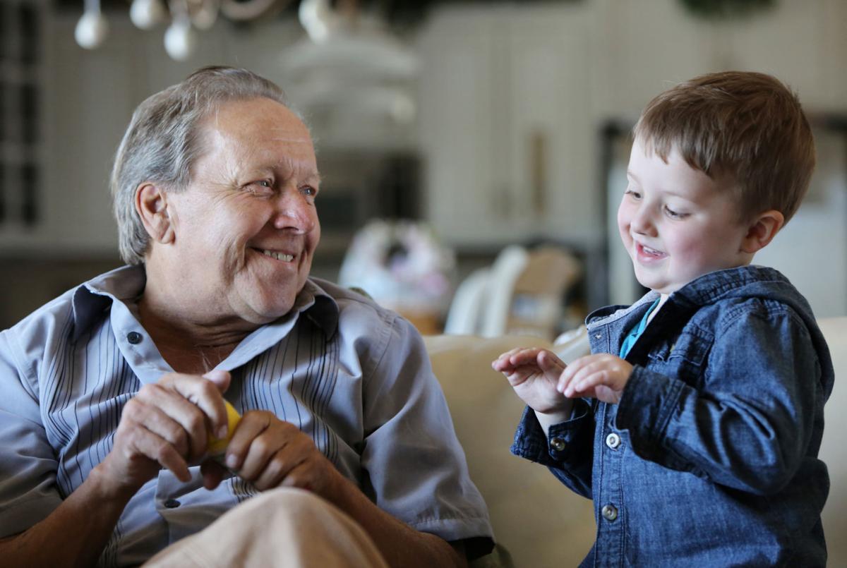 Craig with grandson
