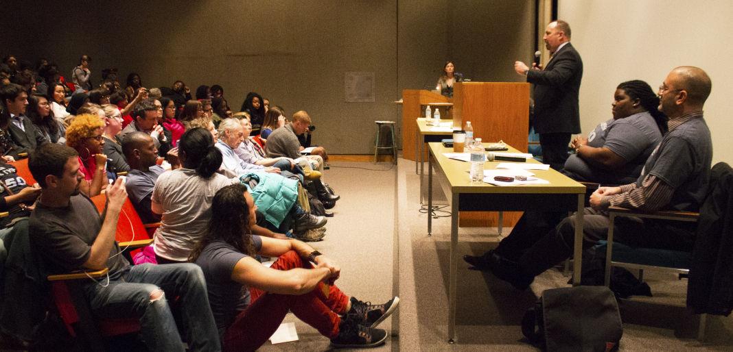 Young Gifted and Black Debate jail debate sheriff