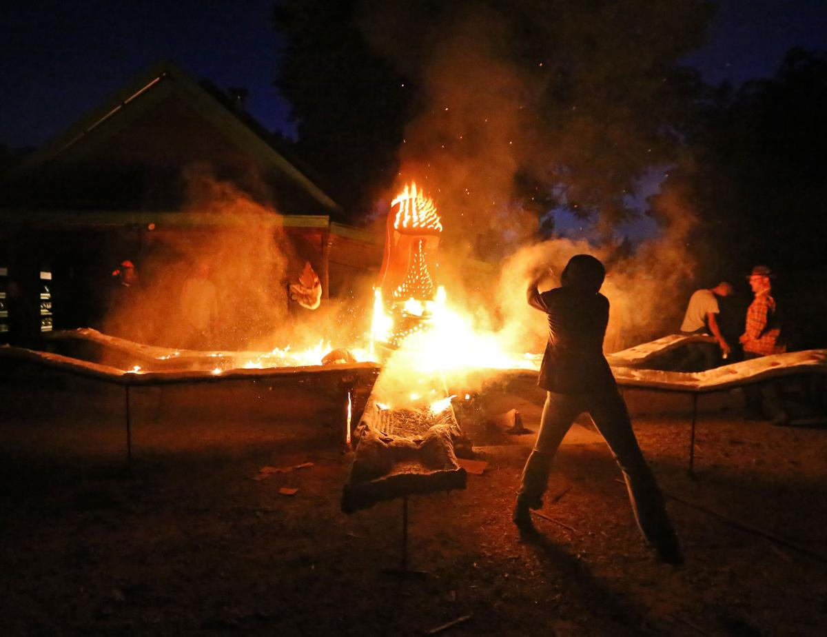 Preparing for Midwest Fire Fest in 2016