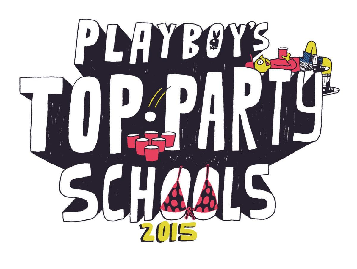 Playboy top party schools logo