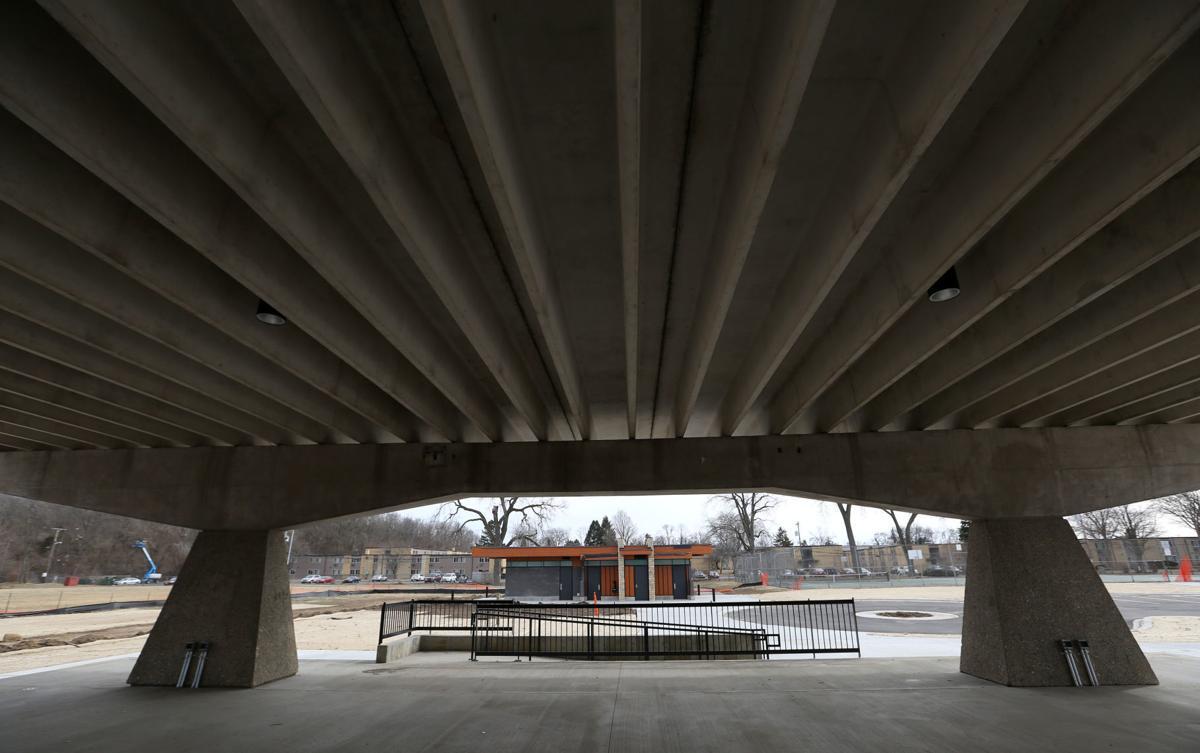 Penn Park renovated shelter