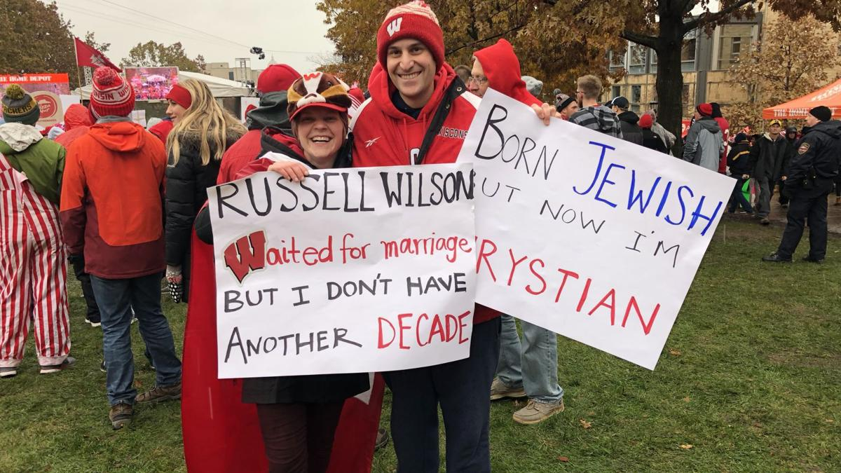 Photos: The best signs from ESPN's College GameDay's visit to Madison