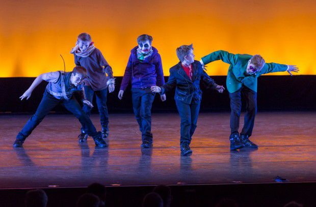 All-Boy Dance Troupe