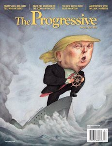 Progressive Magazine cover