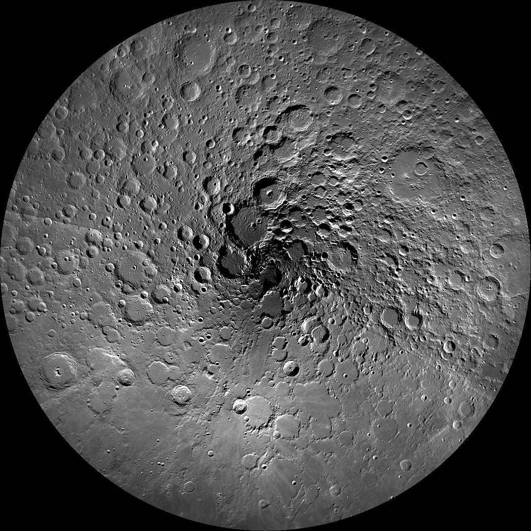 Moon's craters