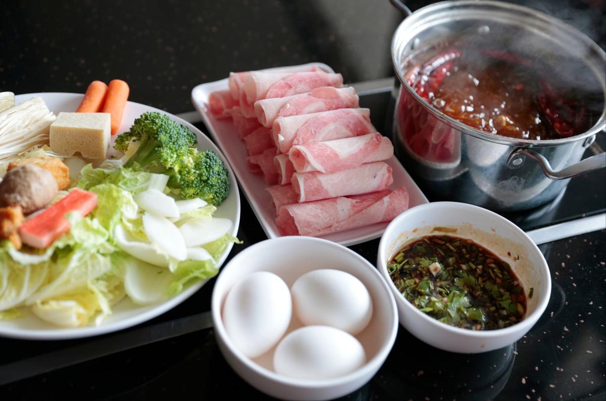 Mini Hot Pot pork