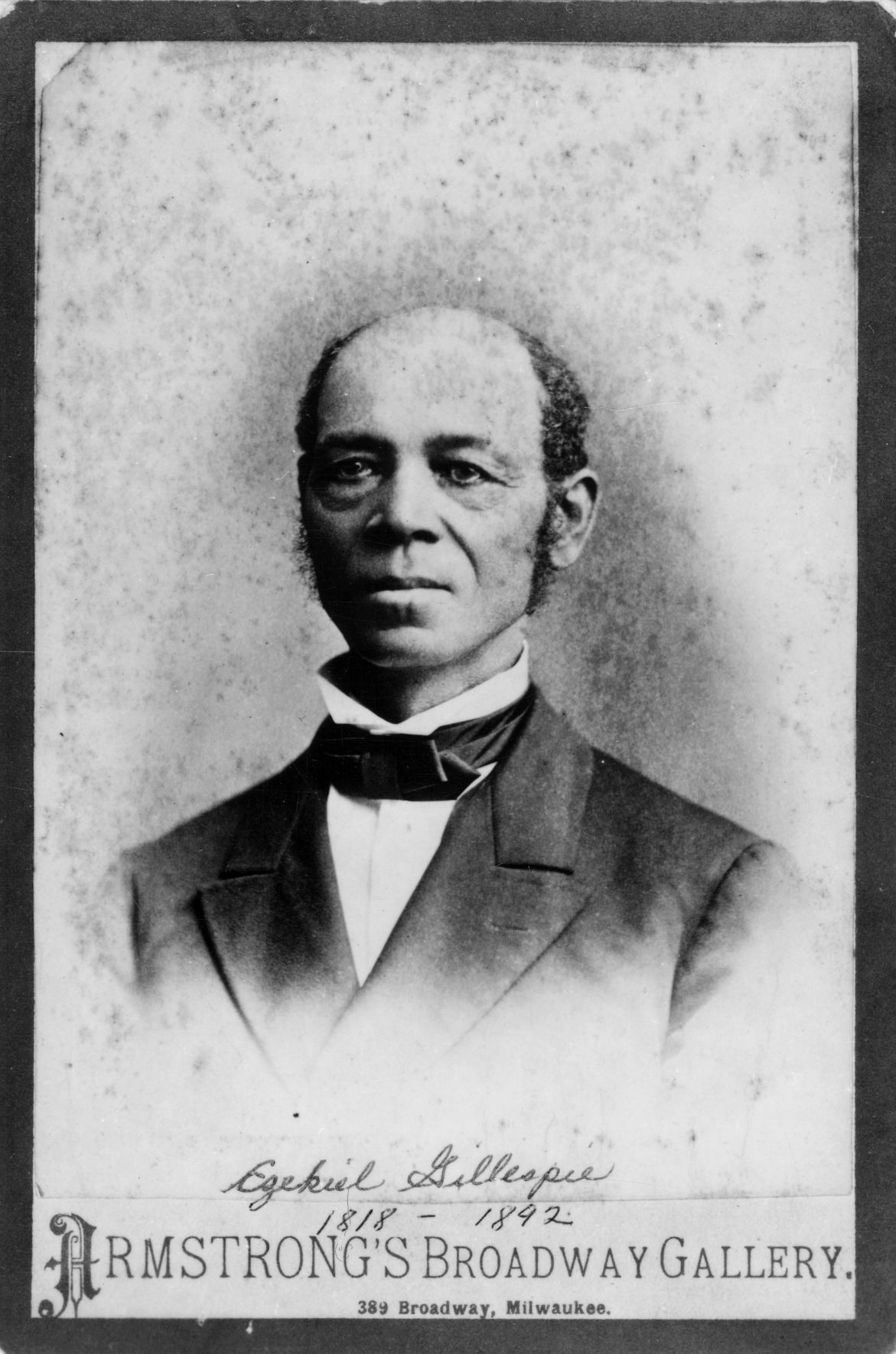 Ezekiel Gillespie successfully sued for the right to vote in 1866
