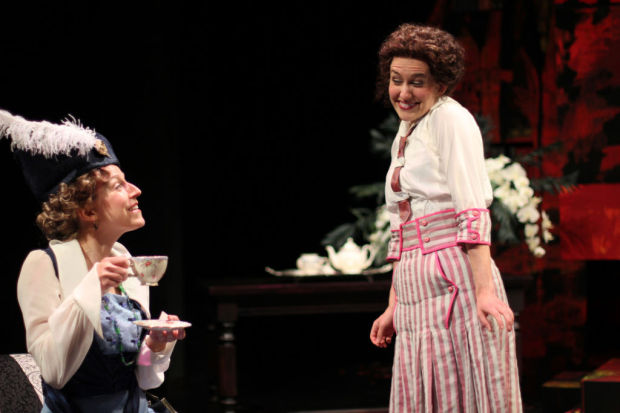 Smug Dancing 10 Hours: Theater Review: Revolutionaries Dance As APT's 'Travesties