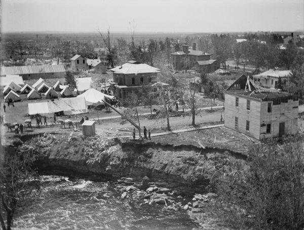 Photos Wisconsin S Deadliest Tornado In 1899 Host