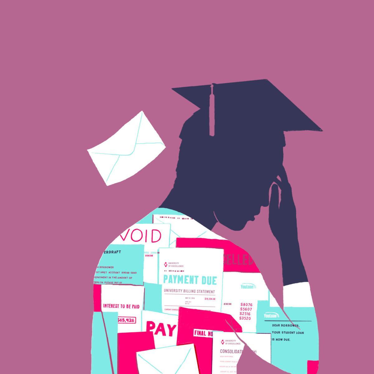 student loan debt illustration (copy)
