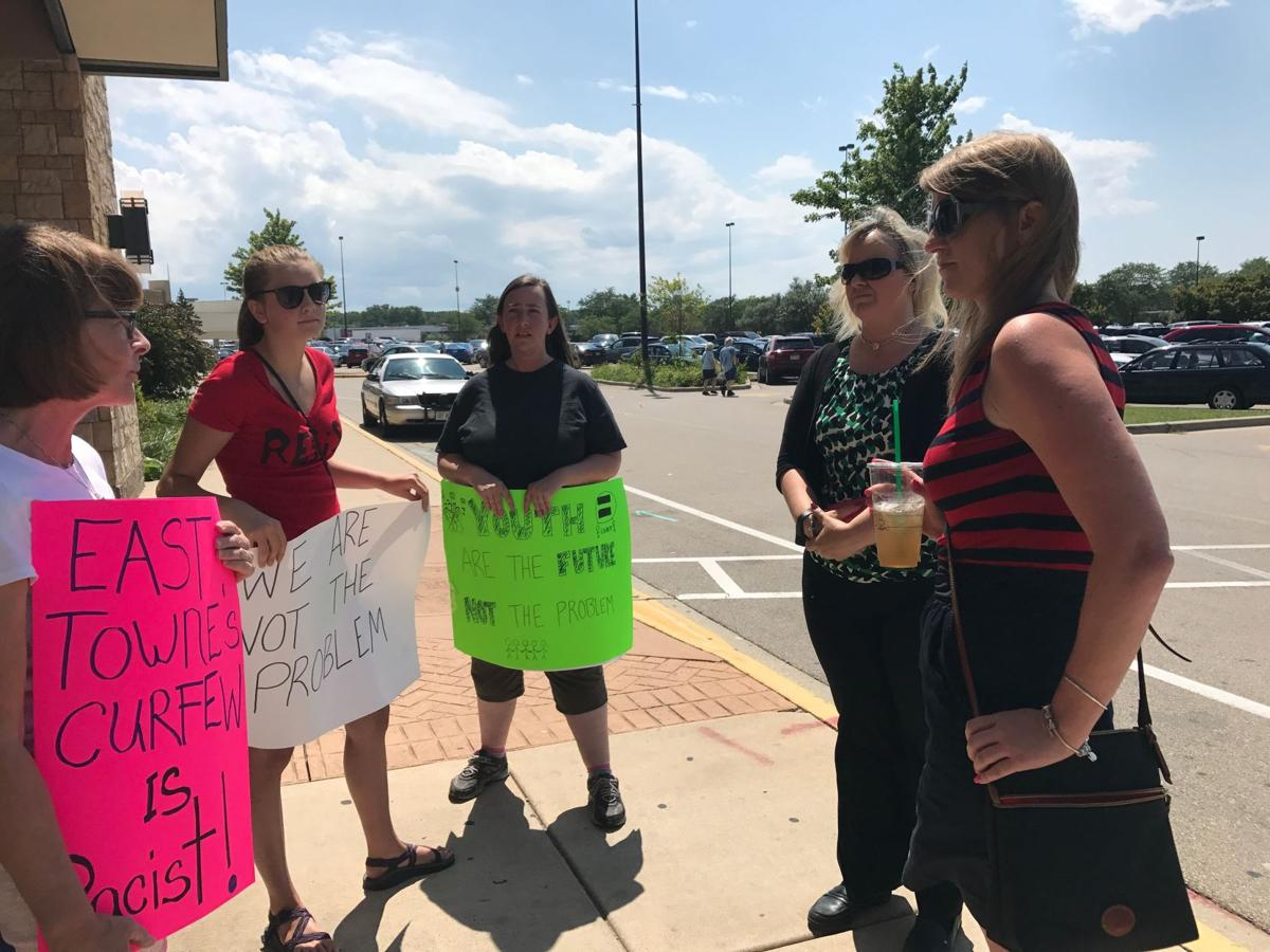 East Towne Mall protest