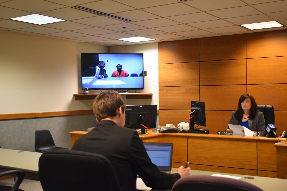 Sammie Miller in court
