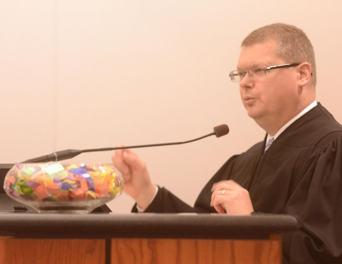 Sauk County Judge Michael Screnock