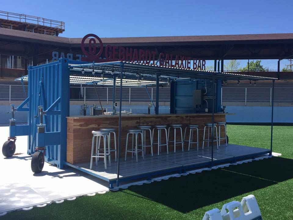 Repurposed Shipping Container Will Debut As A Bar At