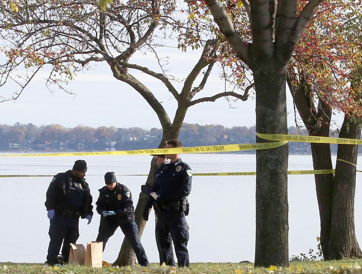 stabbing scene investigation