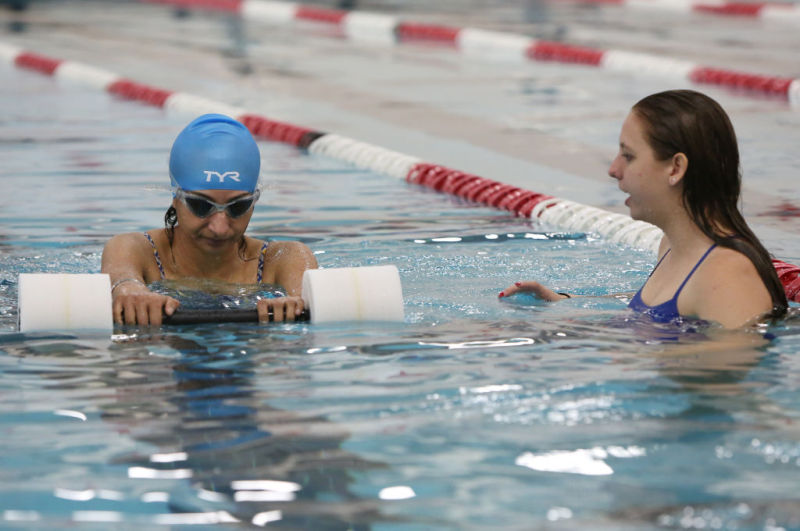 Taking The Plunge More Adults Learning To Swim For The First Time Local News