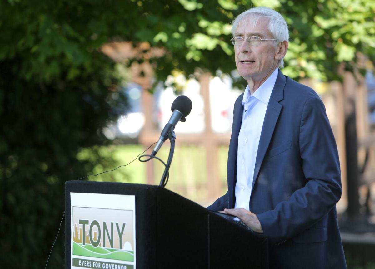 Evers announcement