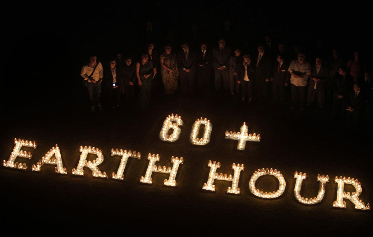 India Earth Hour
