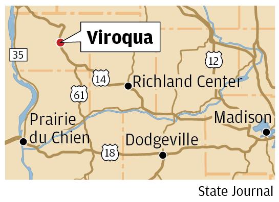 Viroqua map