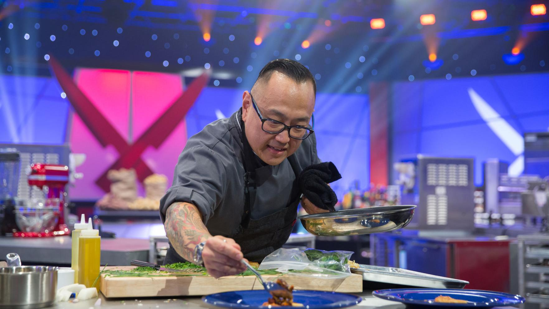 Food Network can't say when Tory Miller's 'Iron Chef Showdown' will air