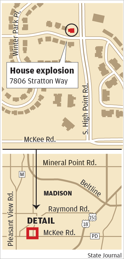 Stratton Way explosion map