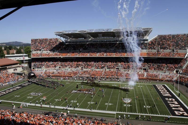 Oregon State Football Reser Stadium file photo
