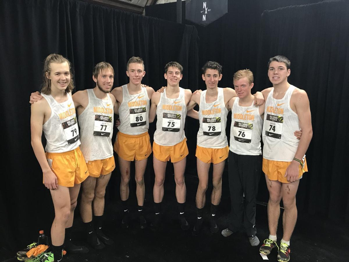 Boys cross country photo: Middleton boys take 16th in Nike Cross Nationals