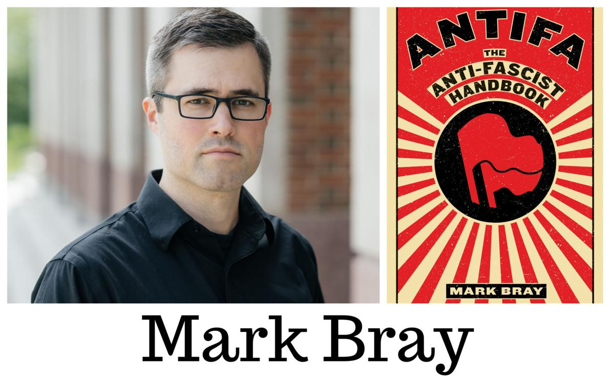 Mark Bray, author of Antifa ROOM OF ONE'S OWN BOOKSTORE