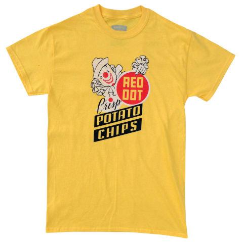 Red Dot potato chips shirt