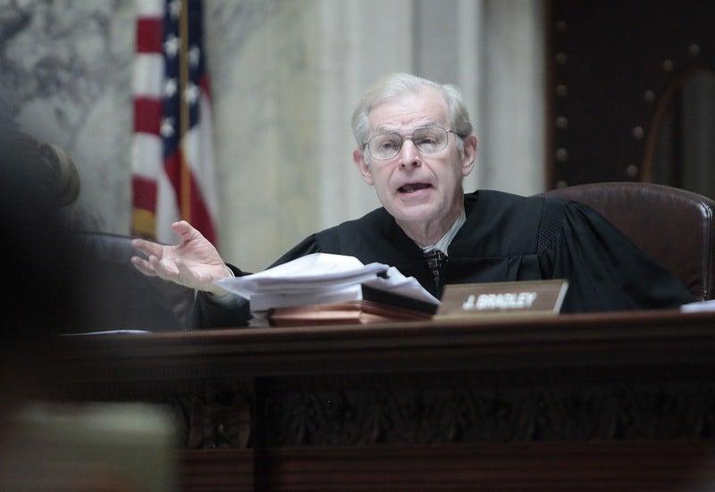 Supreme Court Hearing, David Prosser