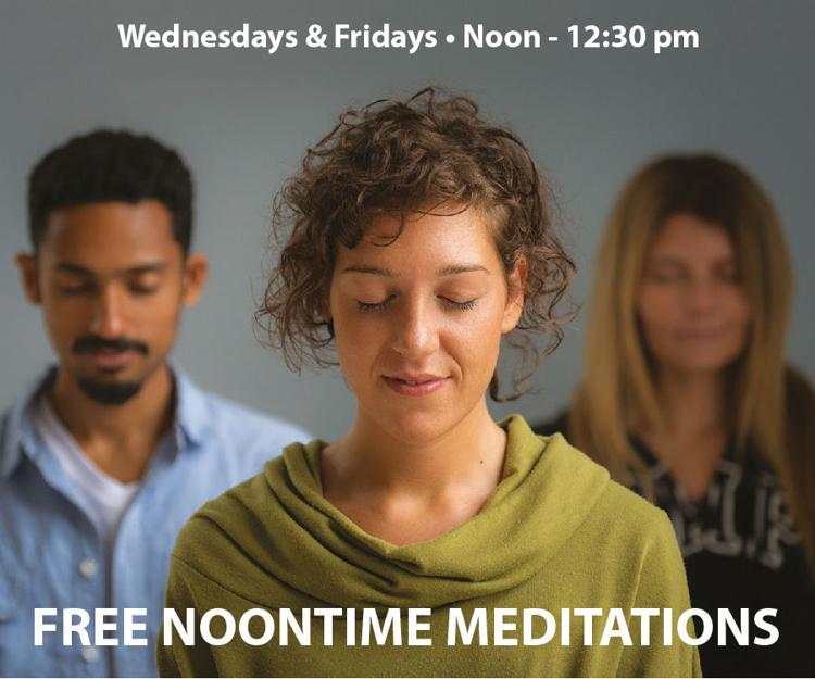 FREE NOON MEDITATION CLASSES