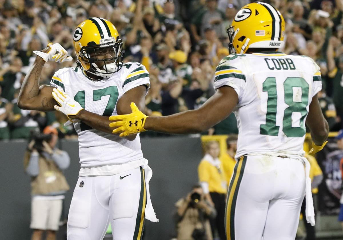 Davante Adams, Randall Cobb photo