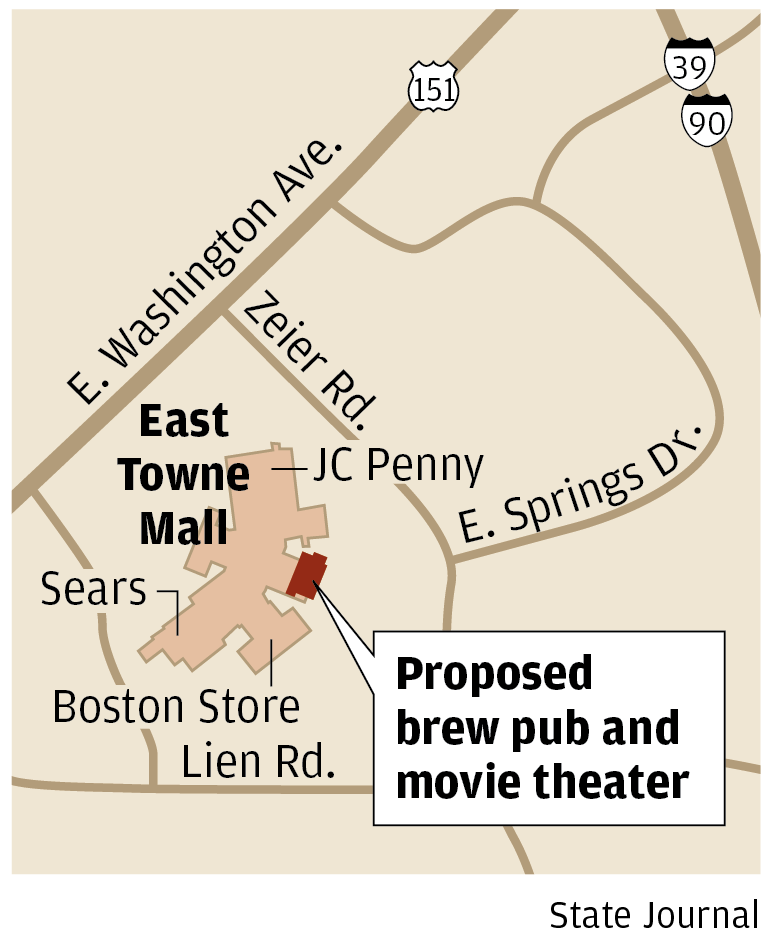 East Towne Mall theater