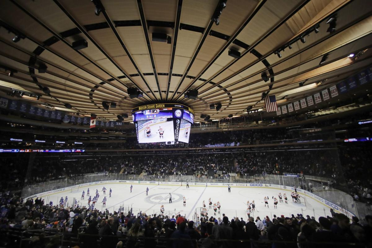Madison Square Garden: Badgers Men's Hockey: Chance To Play At Madison Square