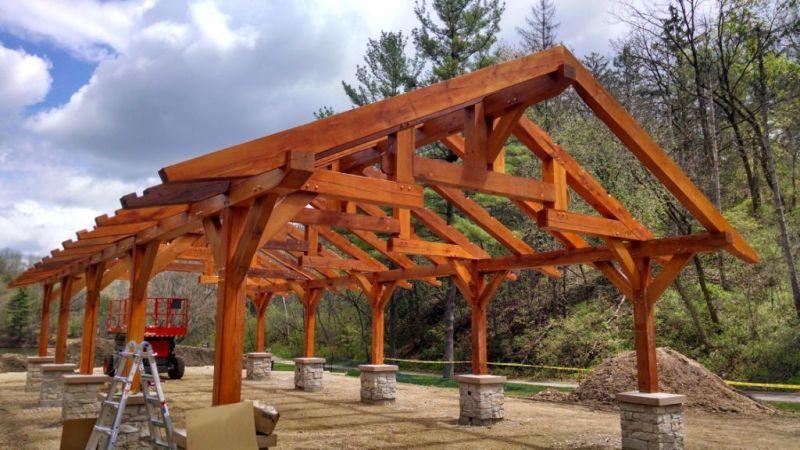 Stewart Lake County Park shelter