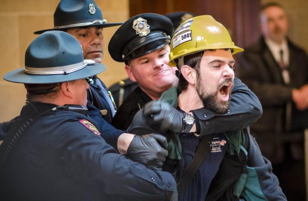 Will Kramer gets arrested