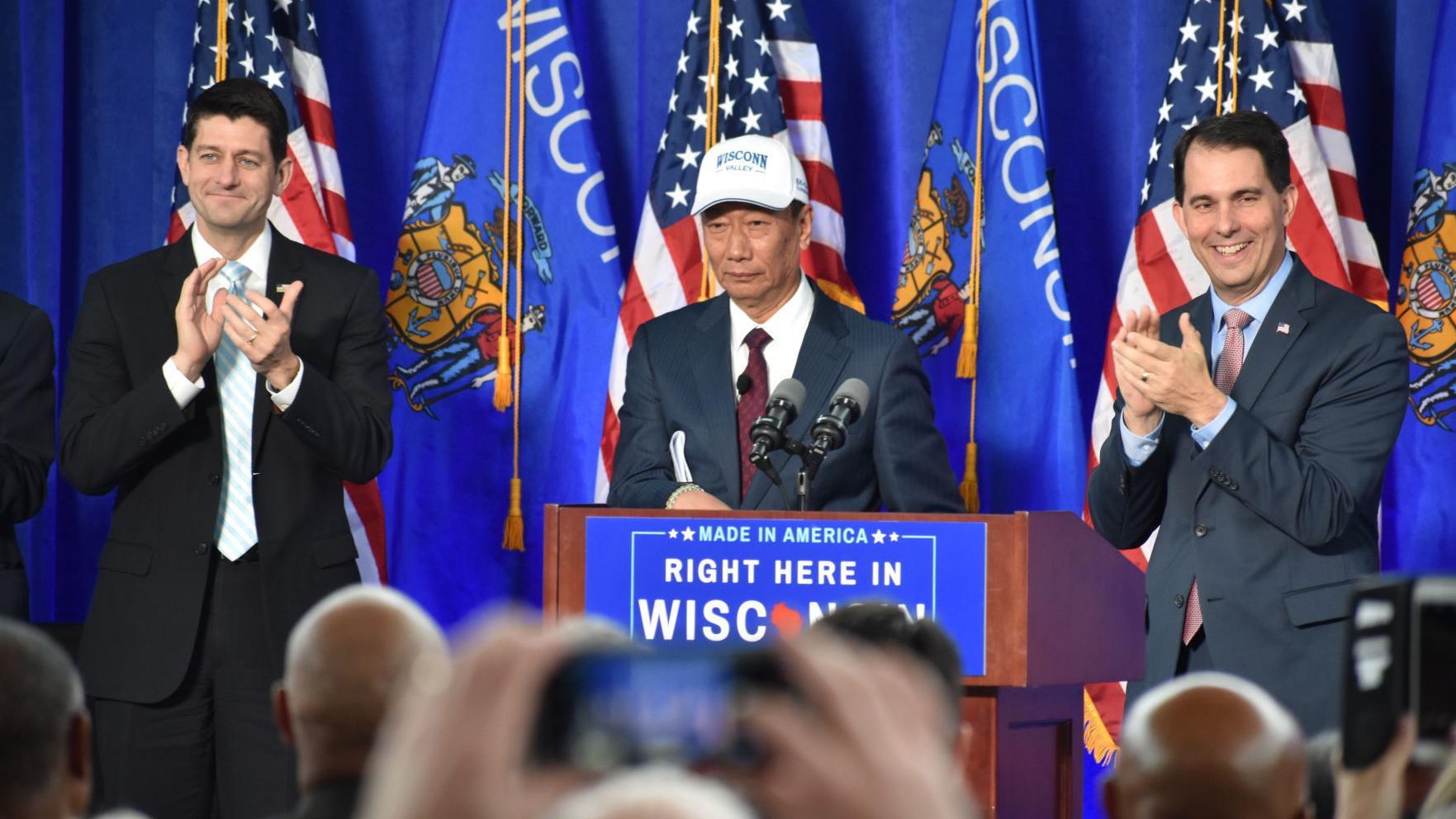 John Nichols: Surprise! Surprise! Scott Walker's cronies are getting rich off Walker's Foxconn scheme